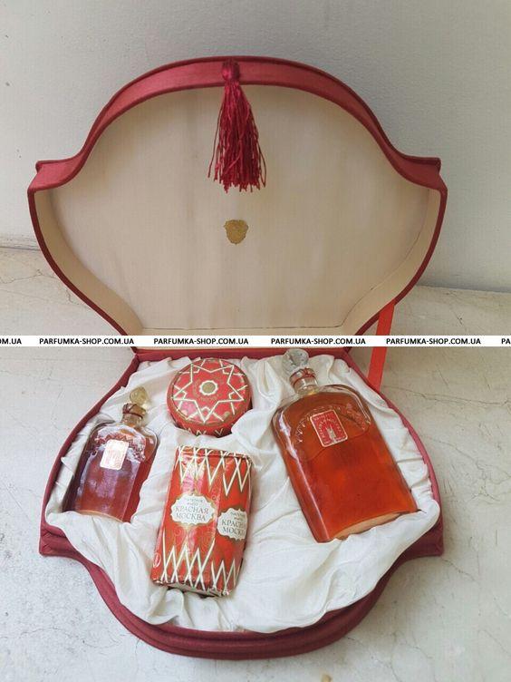 Женская парфюмерия Новая Заря Красная Москва Винтаж