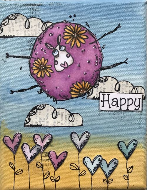 Paper Artsy - Elenazinski Art Cling Mounted Rubber Stamps - Elenazinski Art 21