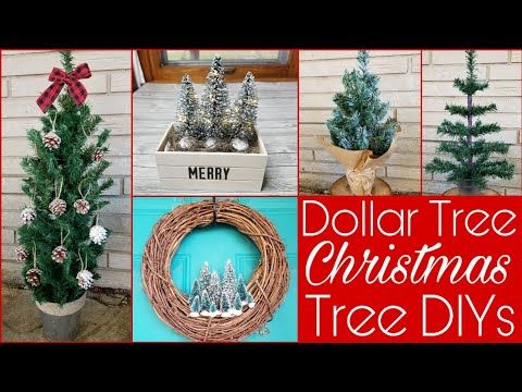 Five More Upgrades To Dollar Tree Christmas Trees Youtube Dollar Tree Christmas Dollar Tree Diy Crafts Diy Dollar Tree Decor
