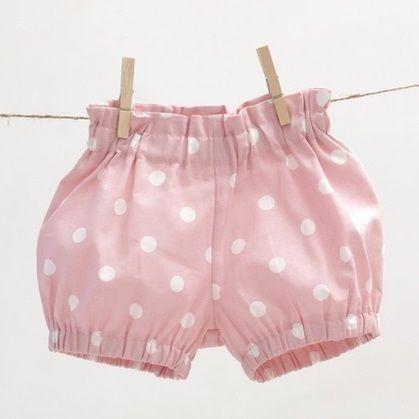 Baby & Mädchen Blasen Shorts, kurze Pumphose von mimiikids auf DaWanda.com