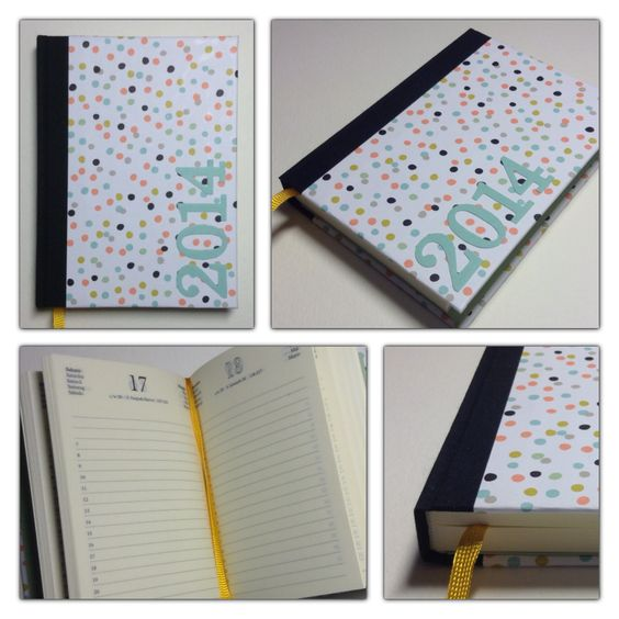 Kalender 2014 mit Designerpapier von Stampin Up