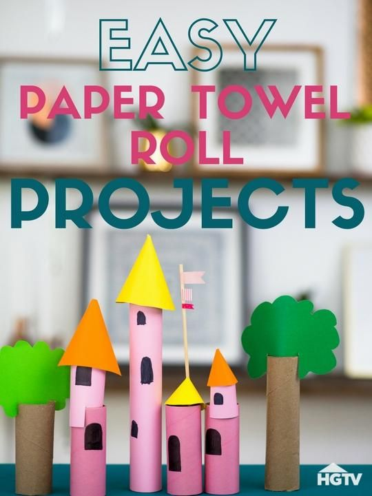 5 Paper Towel Roll Crafts For Kids With Images