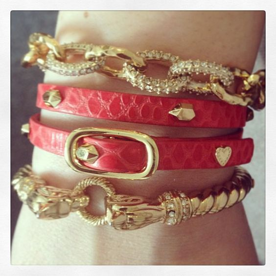 """Arm Party!  """"Trendy, Unique and Affordable"""" - That is the main philosophy at Bling Boutique in Milford, MI!  Stop by our store to find some fashionable items that will spice up your wardrobe!  Visit www.downtownbling.com or call (248)  685-8449 for more information!"""