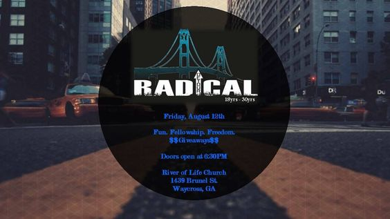 11 Reasons Why You Should Attend Radical Night