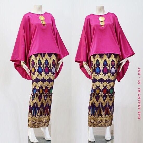 Model Baju Gamis Batik Untuk Perpisahan Sekolah di 2020 (Dengan ...