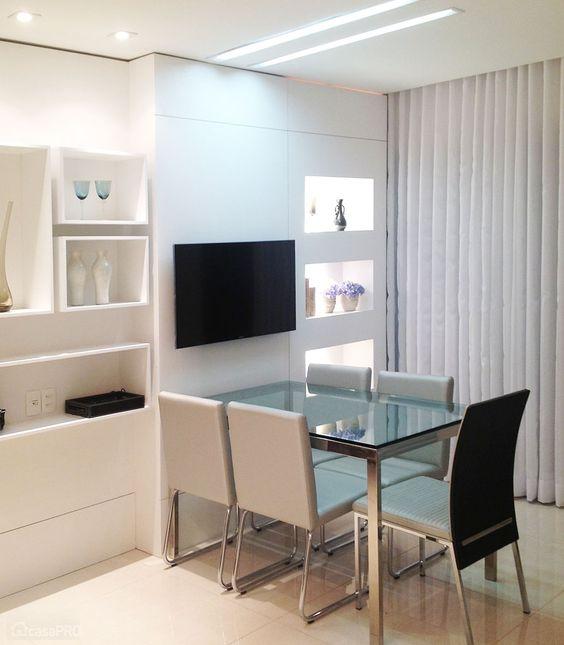 Tv Lar Sala De Jantar ~  aproveitar cada salas de jantar sala jantar sala de estar pequena 38