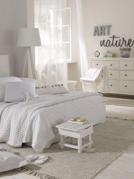 Schlafzimmer Naturtöne Wohnidee: Schlafzimmer Pinterest Vintage ...