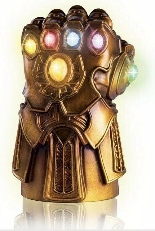 Marvel Avengers Thanos Infinity Gauntlet Lamp Stones Glow Endgame Infinity War Avengers Infinity Stones Thanos Infinity Gauntlet Marvel Infinity