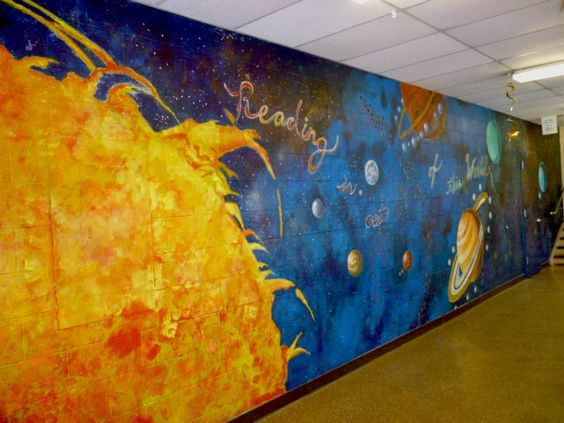 solar system on ceiling paint - photo #14