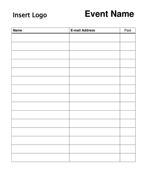 email optin signup sheet Google Search signup – E Mail Sign Up Sheet