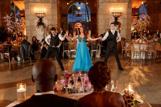 Wedding Planners - Eventrics l Photography - Ambrosio l Venue - Flagler Museum Palm Beach l Wedding Reception