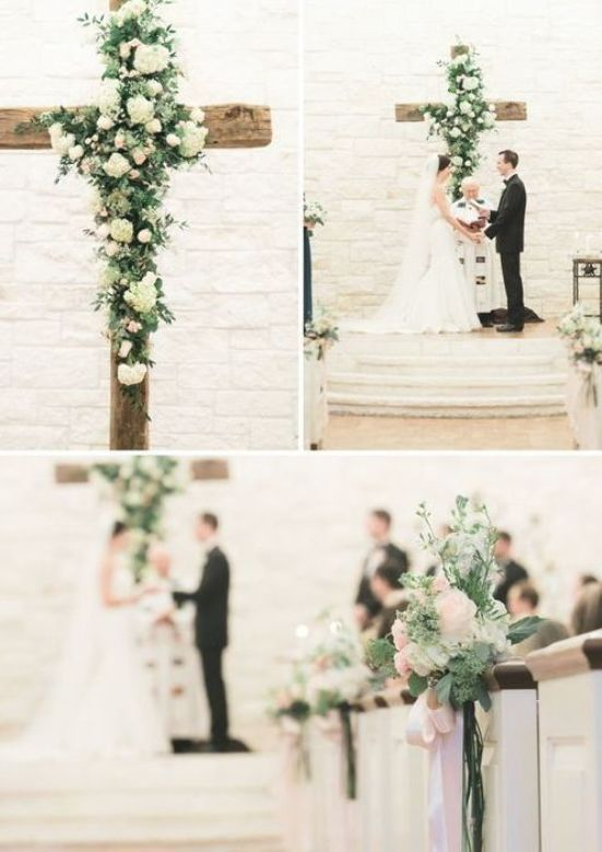 Christian Wedding Ideas 25 Wedding Christ Centered Cross Details Di 2020 Perkawinan Dekorasi Perkawinan Inspirasi