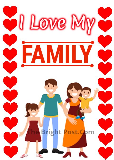 I Love My Family Picture Status My Family Picture Love My
