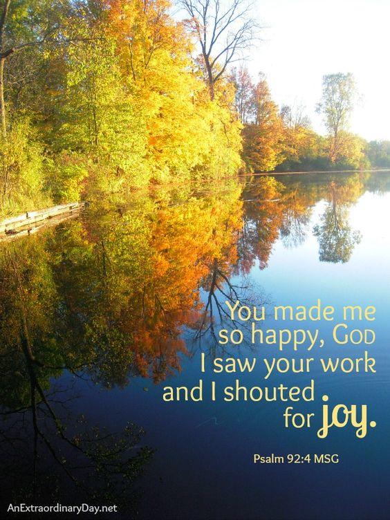 Day 20/#31Days :: You made me so happy, God :: Joy Day! :: AnExtraordinaryDay.net