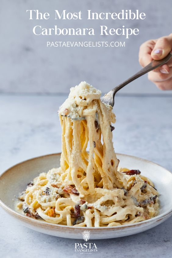 Our Famous Carbonara recipe