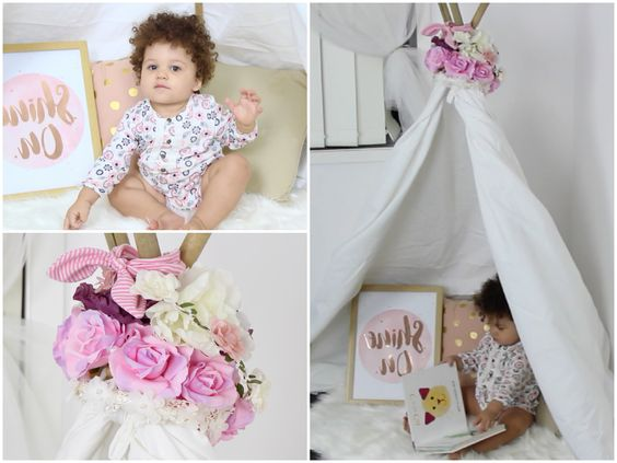 DIY Tee Pee Play Tent (Super Easy and Affordable) - YouTube