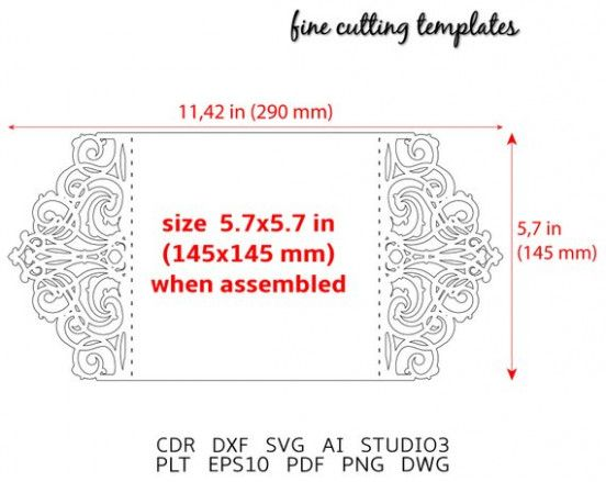 What Will Invitation Card Format Size Be Like In The Next 15 Years Invitation Card Format