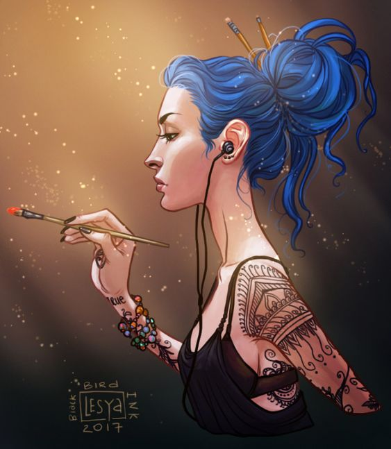 Karou (Daughter of Smoke and Bone)