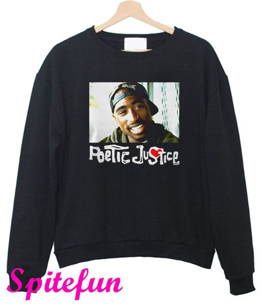 Tupac Shakur Poetic Justice Sweatshirt Sweatshirts Poetic Justice Tupac
