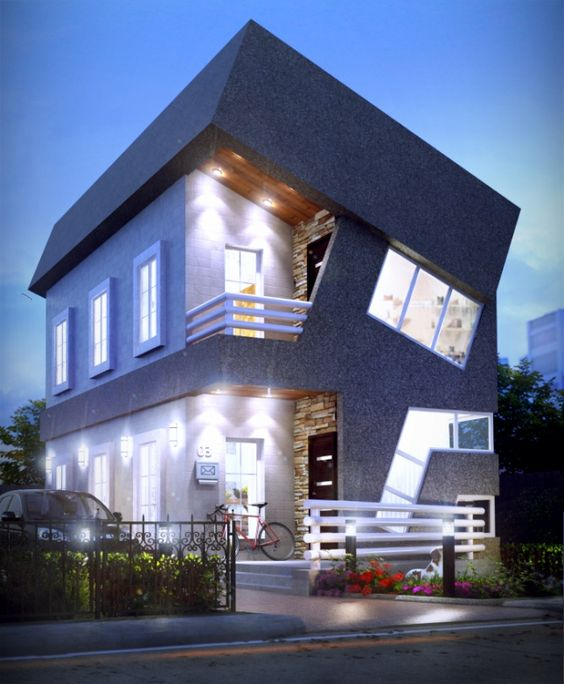 Architecture in africa amazing duplex design ideas in for Modern duplex house plans in nigeria