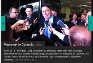 Advogado de réus abandona plenário; julgamento do Carandiru é cancelado - #PolicialBR
