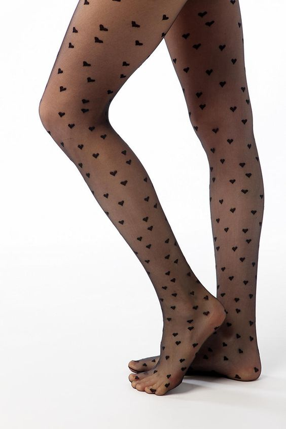 UO heart tights