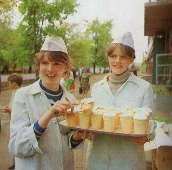 советское мороженное, мороженное при ссср, ленинградское, каштан: