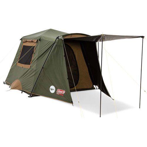 Coleman Instant Up Gold Vestibule Darkroom Tent 6 Person Tentworld Tent Coleman Tent Tent Camping