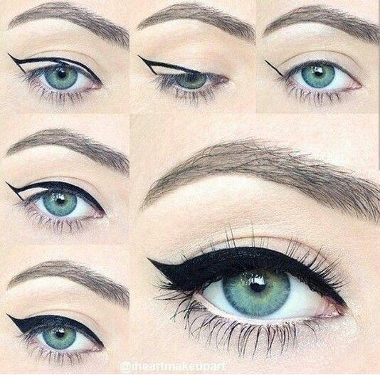 Delineado De Ojos Maquillaje Donde El Delineado Es El