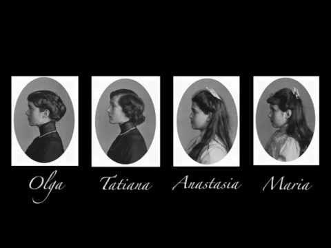 Olga, Tatiana, Anastasia and Maria Romanov
