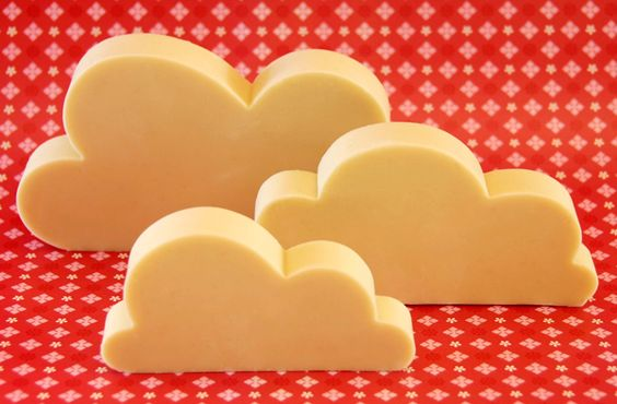 marzipan clouds!