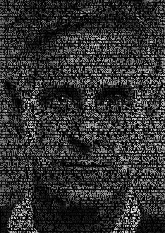 Photoshop Tutorial: How To Create a Text Portrait Effect | blog.spoongraphics.co.uk
