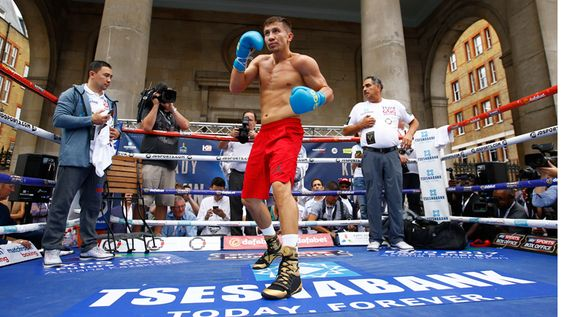 Gennady Golovkin and Kell Brook perform their final workout - Boxing News