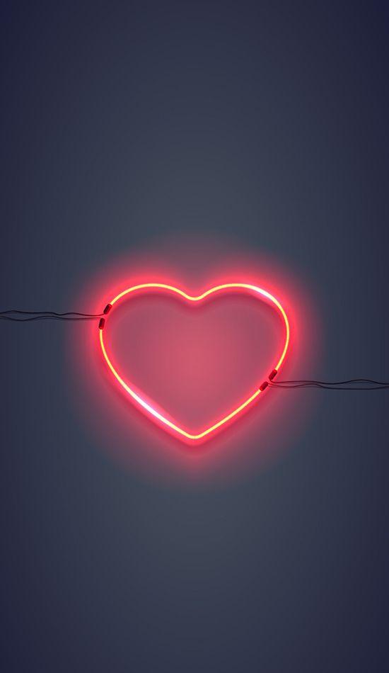 Unsplash | Heart iphone wallpaper, Neon wallpaper, Neon light ...