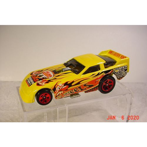 Probe Funny Car Crazed Clown Yellow R5s 1 64 98 2003 Hot Wheels On Ebid United States 188331223 In 2020 Hot Wheels Car Humor Car