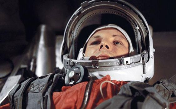 On 12 April 1961 Russian cosmonaut Yuri Gagarin became the first human in space when he orbited the Earth once during a 108 minute flight.   In 1960 Gagarin, a fighter pilot, was shortlisted for the Vostok 1 programme, which built on the success of Sputnik 1 just three years earlier. German Titov was Gagarin's closest rival for selection - both men tried to impress space programme director Sergei Korolev.