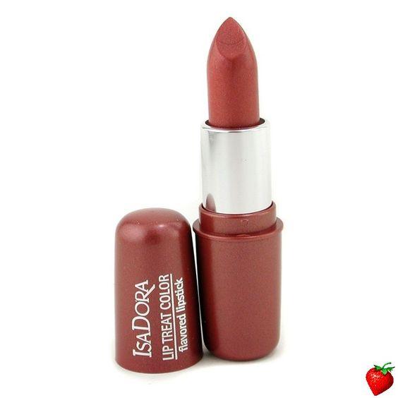 IsaDora Lip Treat Color Flavored Lipstick - # 10 Shiny Brass 4.5g/0.16oz #IsaDora #Makeup #LipStick #Beauty #FREEShipping #StrawberryNET #Hot