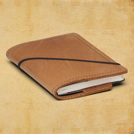 Moleskine Cover by Saddleback Leather