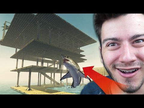 Deniz Ortasinda Villa Yapmak Youtube Villa Youtube Kanal