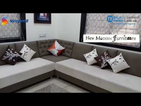 Sofa Set Sofa Corner Sleepwell Foam Furniture Cushioning Manufacturer Vadodara Youtube Corner Sofa Design Living Room Sofa Design Modern Sofa Designs
