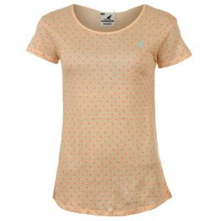 Kangol Neon Polka T Shirt Ladies - SportsDirect.com