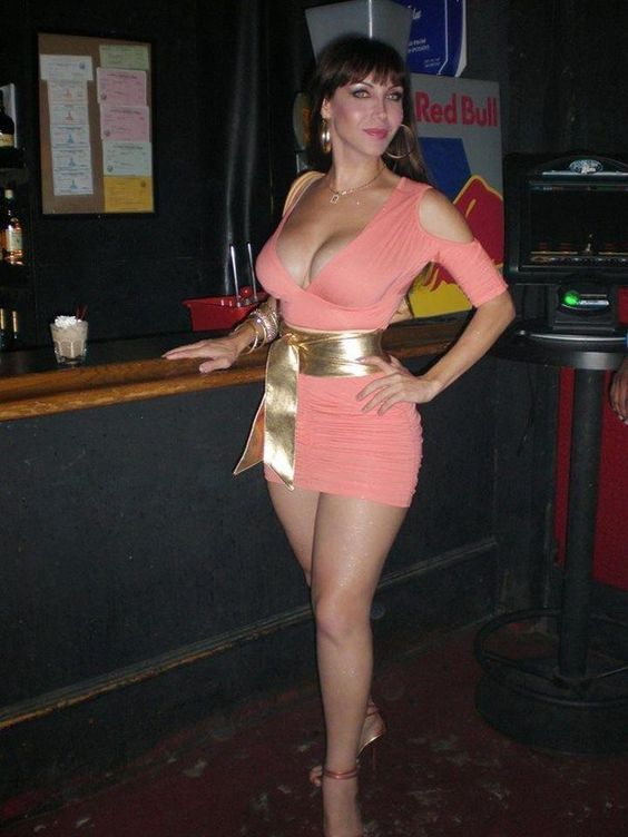 Milf in mini dress