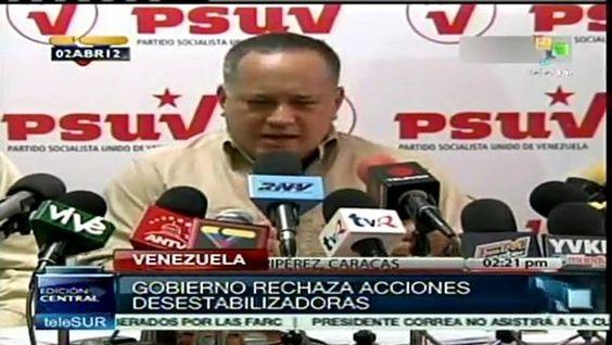 #Venezuea: #PSUV advierte sobre #conspiración de banqueros y empresarios