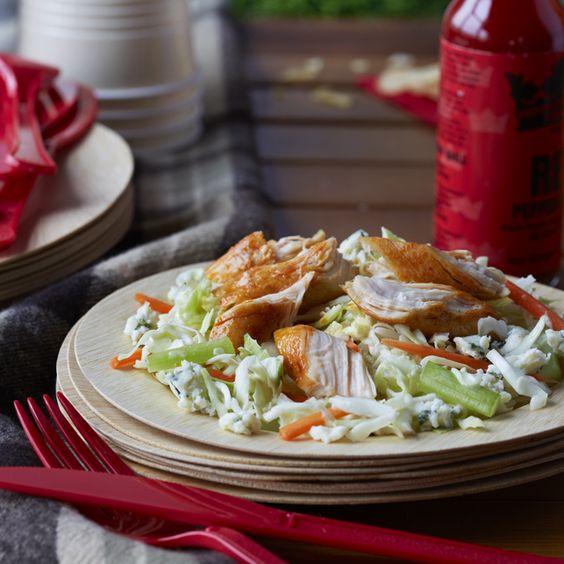 DOLE Salads - Tailgater's Buffalo Chicken Salad Recipe - DOLE