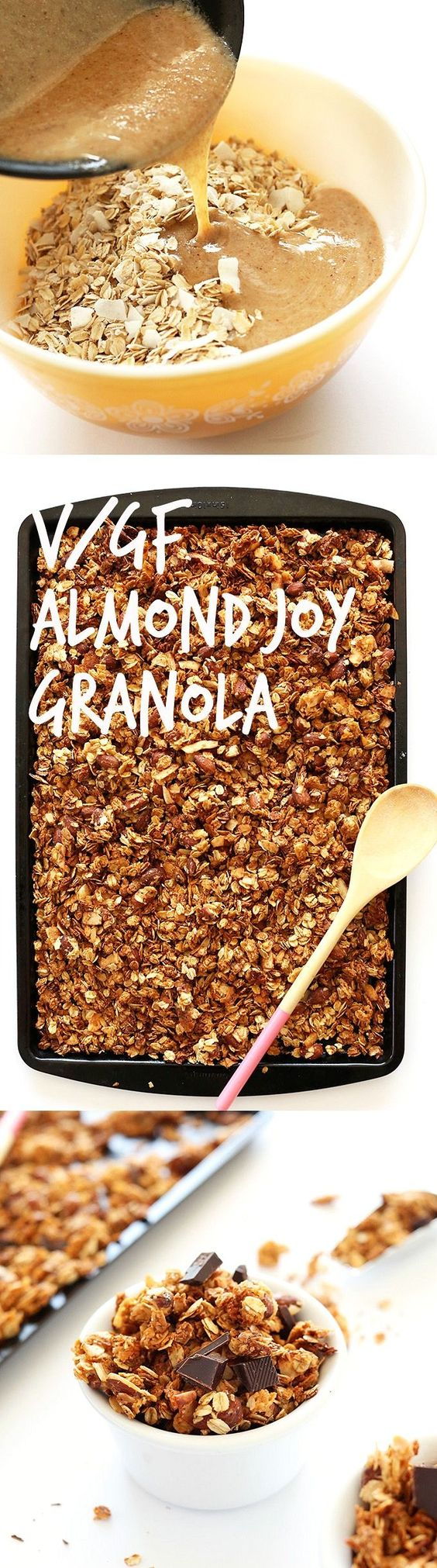 Almond Joy Granola | Recipe | Almond joy, Granola and Minimalist baker