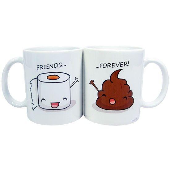 Friends Forever - Canecas super cute!