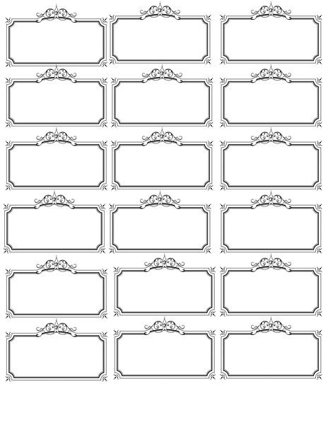 Free Printable Price Tags Template Name Tag Template Invites Illustrations Printable Label Templates Name Tag Templates Labels Printables Free