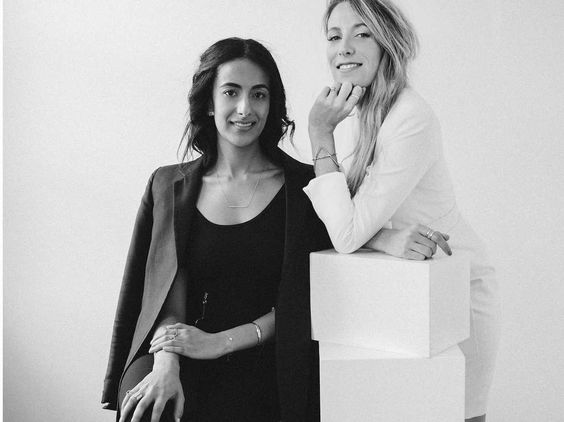 """2 women who built a business while at Goldman Sachs and Marc Jacobs say a side gig made them better at their day jobs  In 2014, Sophie Kahn and Bouchra Ezzahraoui were having brunch in New York City. Kahn was working at Marc Jacobs after a stint at The Boston Consulting Group, and Ezzahraoui was an interest rate volatility trader at Goldman Sachs. They had met in 2009 as Princeton graduate students, two of only a handful of women pursuing finance degrees.   """"We were talking about th.."""