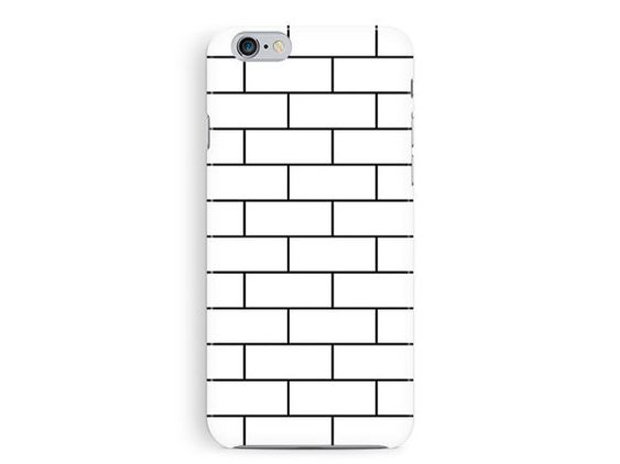 iPhone 5 case, iPhone 5S case, Phone Case, iPhone 5s Accessories, brick iPhone 5, minimalist iPhone 5, grid pattern, 5s Case, Hipster cover