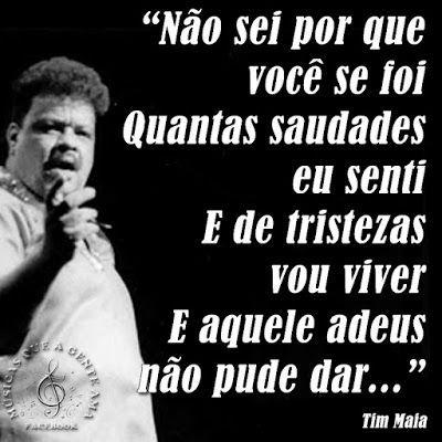 Tim Maia 1942 1998 Foi Um Cantor E Compositor Brasileiro Que Fez
